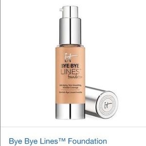 NIB IT COSMETICS BYE BYE LINES FOUNDATION/FAIR